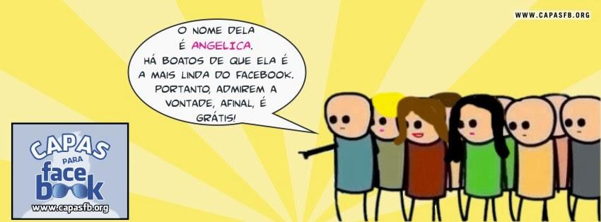 Capas para Facebook Angelica