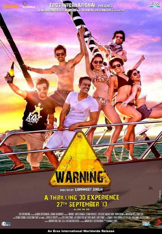 Cover of Warning (2013) Hindi Movie Mp3 Songs Free Download Listen Online at Alldownloads4u.Com