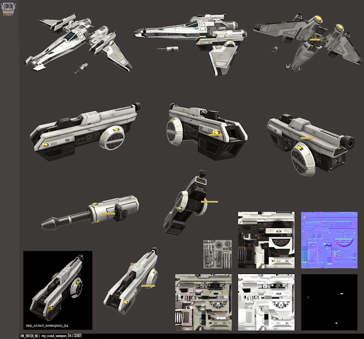 Republic Scout Weapons