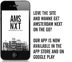 Amsterdam Next on the go Download now on on Google Play or in the app store