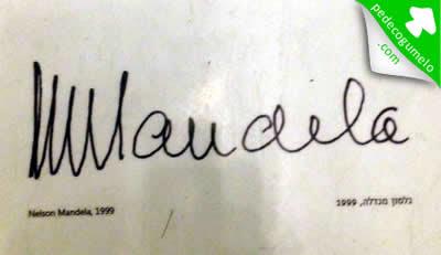 Nelson Mandela - US$ 6.280