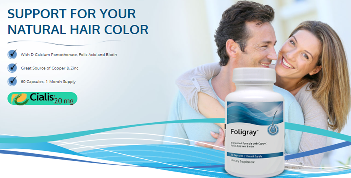 Foligray Is A Dietary Supplement