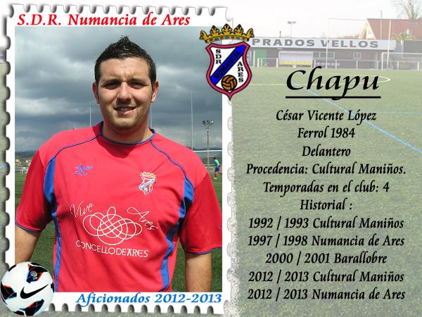 ADR Numancia de Ares. Chapu.