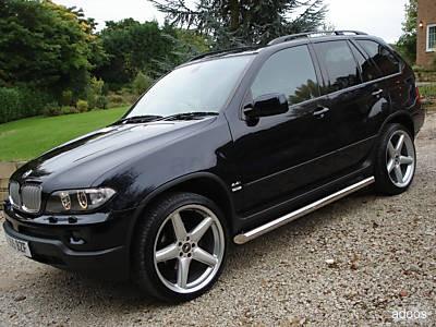 BMW Automobiles bmw x5 2005 black