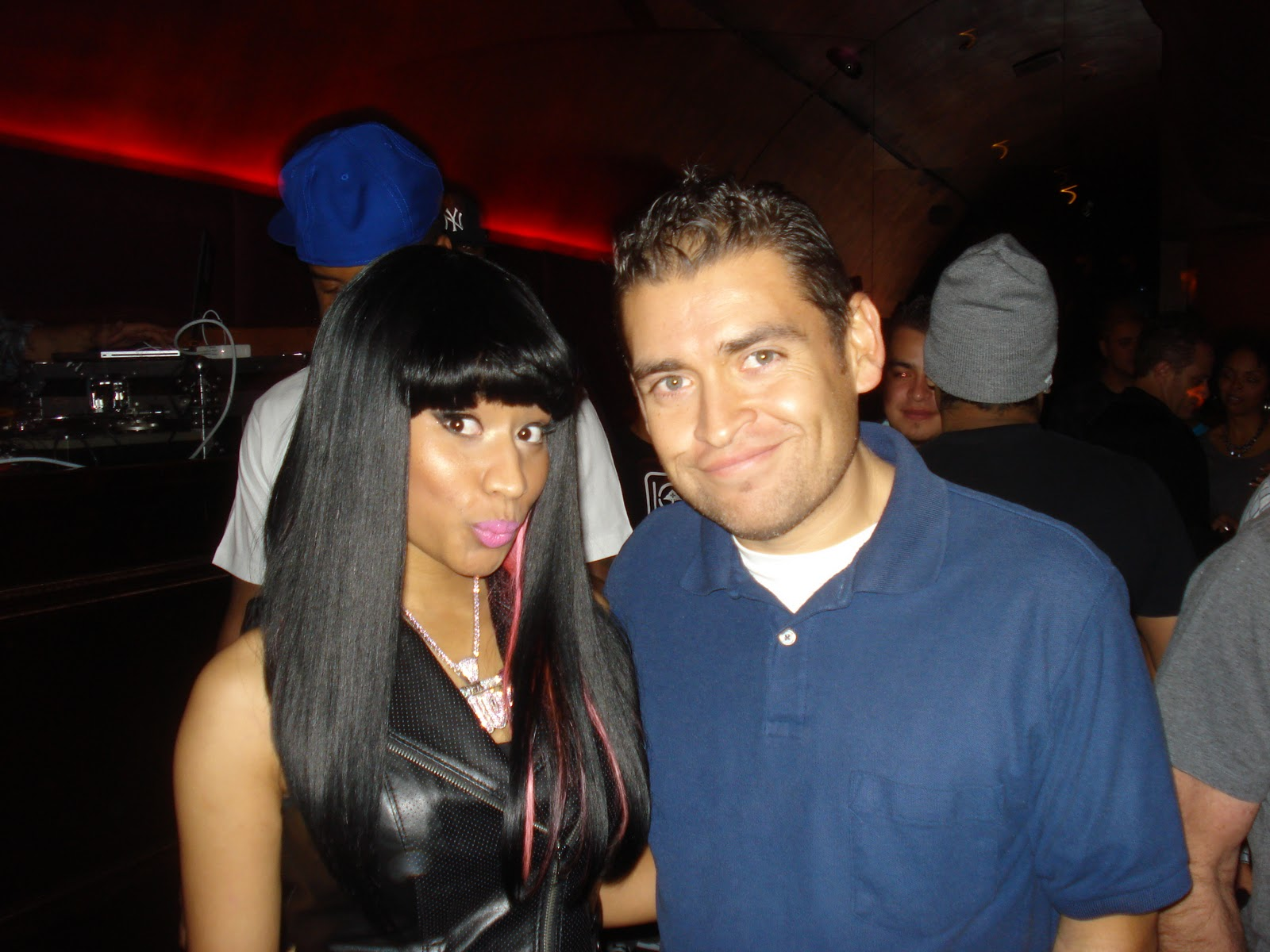 Randomly ronnie jr nicki minaj event hyde lounge recently i joined my close friend vanyaonline as she conducted a meet greet w 2011 breakout star nicki minaj the promotional event was held the m4hsunfo