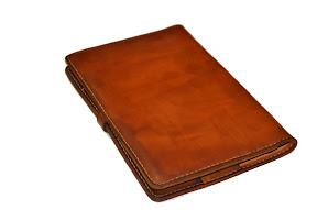 кожаная папка ручной работы № 150 А4