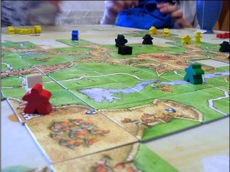 czubatka.pl :: gry planszowe :: rozgrywka carcassonne