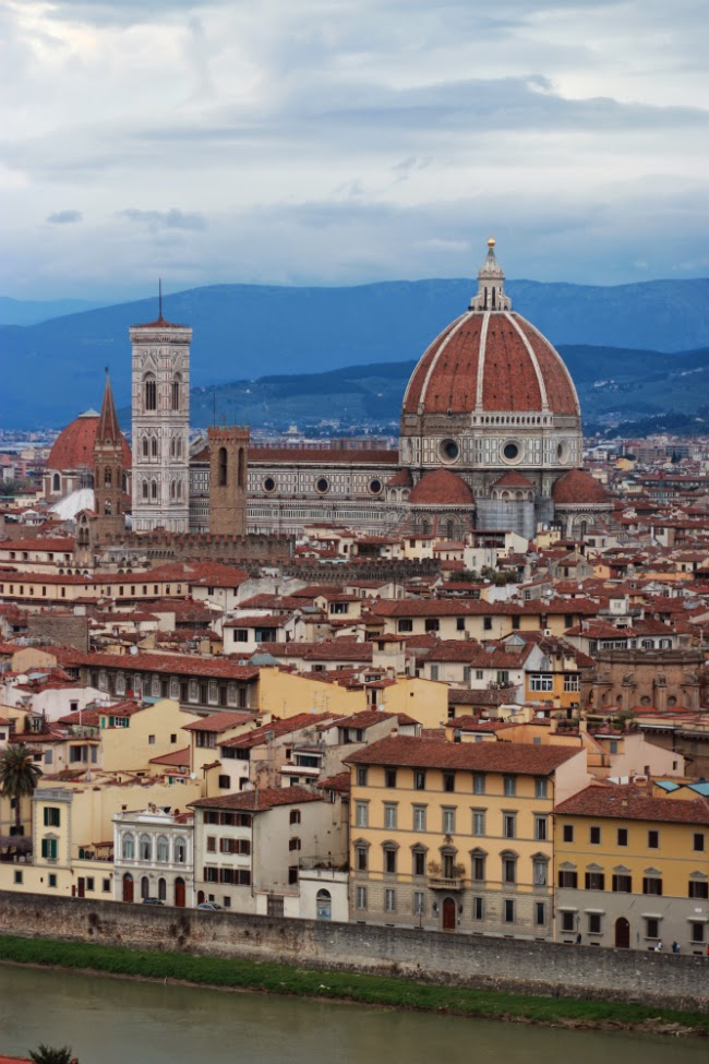 panoramic of church of firenze florence