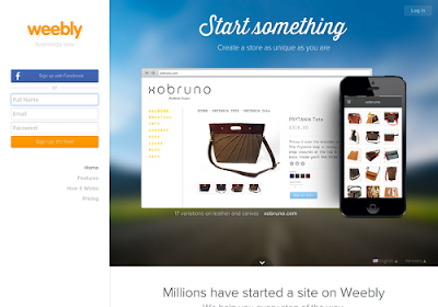 Weebly.com free online website builders