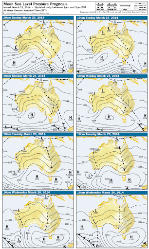 stalled trough 21st -28th May 2014