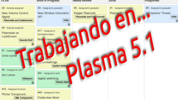 Primeros pasos hacia Plasma 5.1