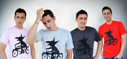 Men's Beached Miami Wolfcyclist Shirts