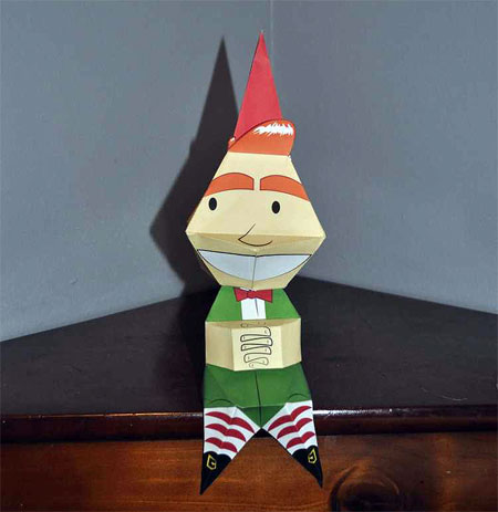 Elf Yo Shelf Paper Toy