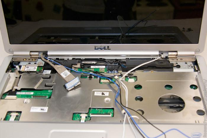 Как разобрать ноутбук Dell Inspiron 1525 18