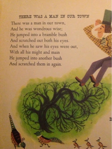 there was a man in our town nursery rhyme