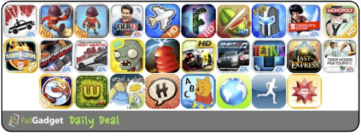 PadGadget Daily App Deal - 28 iPad Apps on Sale