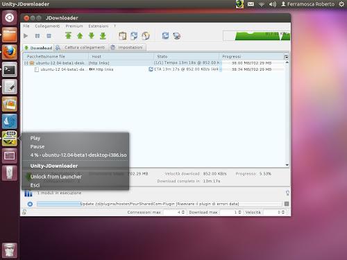 JDownloader su Ubuntu 12.04