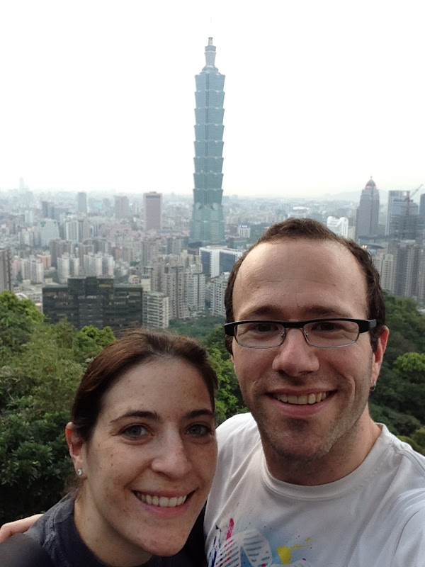 Hiking above Taipei