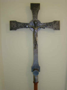 Art in Service to the Church: Metal Work - Crucifix