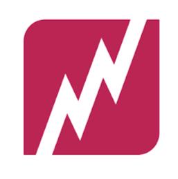 Fragile media logo