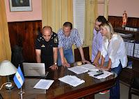 El intendente municipal Gustavo Arrieta y la Jefa de Gabinete Marisa Fassi, supervisaron en horas de la madrugada de este jueves 1º de enero, la puesta en marcha del operativo de seguridad coordinado para custodiar las fiestas de fin de año.
