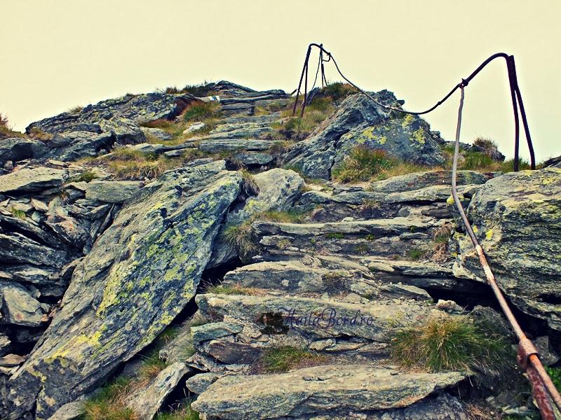 traseu spre pietrosul rodnei