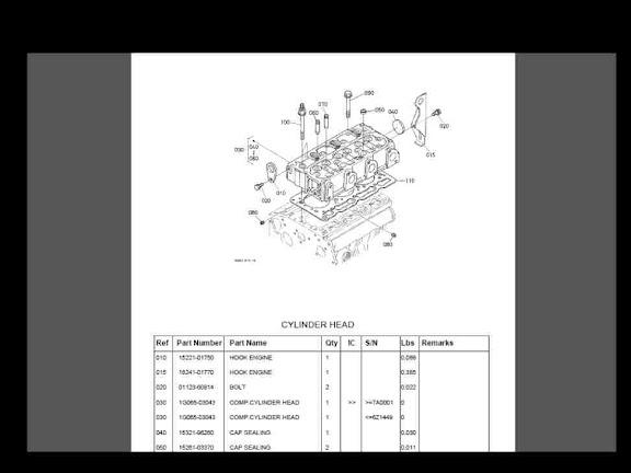 Kubota B20 B26 Tractor Parts Manuals 550pgs Detailed B 20