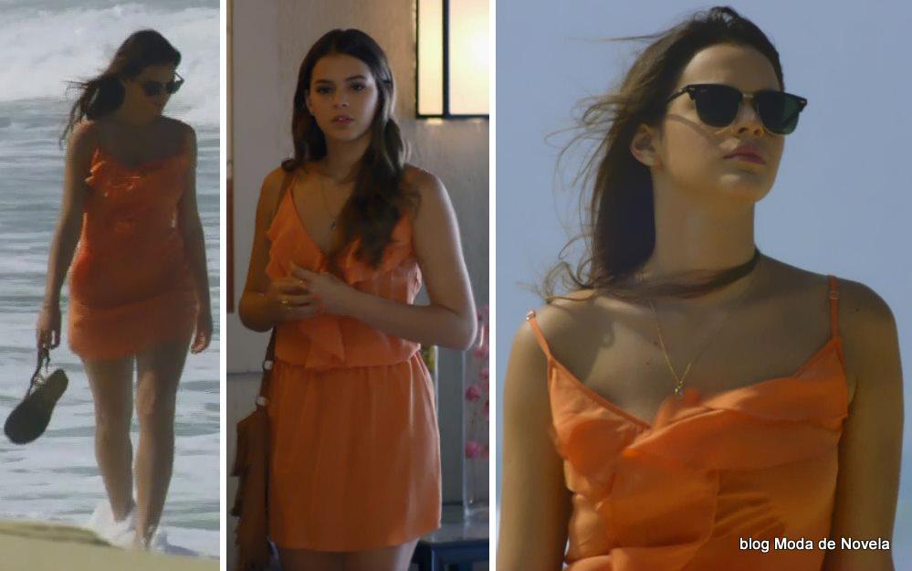 moda da novela Em Família - look da Luiza dia 10 de maio