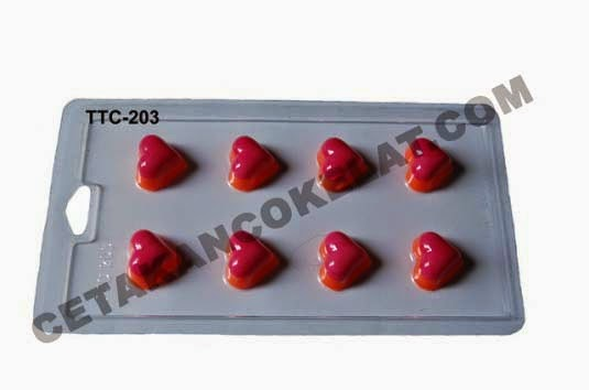 Cetakan Coklat TTC203 Love valentine