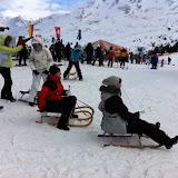Dolce Vita Mitarbeiter Skitag in Nauders 11.01.11