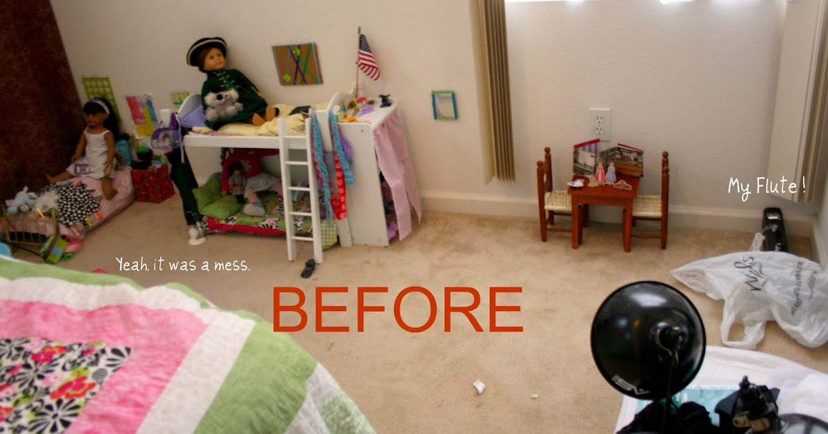 Make An American Girl Doll Room