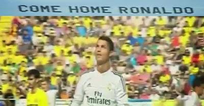 Reacção De Cristiano Ronaldo À Mensagem Aérea De Adeptos Do Man. United Pedindo Que Volte A Casa
