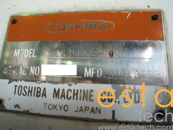 Toshiba IS350GS-10A (1999) Plastic Injection Moulding Machine