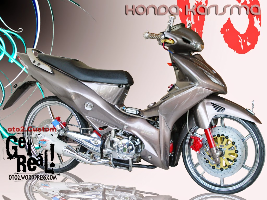Modifikasi Honda Karisma X 125 Thecitycyclist