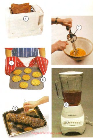 Kitchen Pictures And List Of Kitchen Utensils With Picture And Names Online Dictionary For Kids