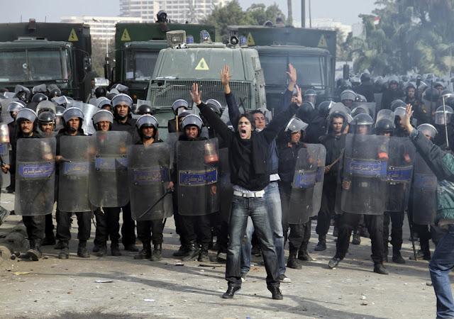 Egyptian Revolution شريف الحكيم Egypt_protest_35