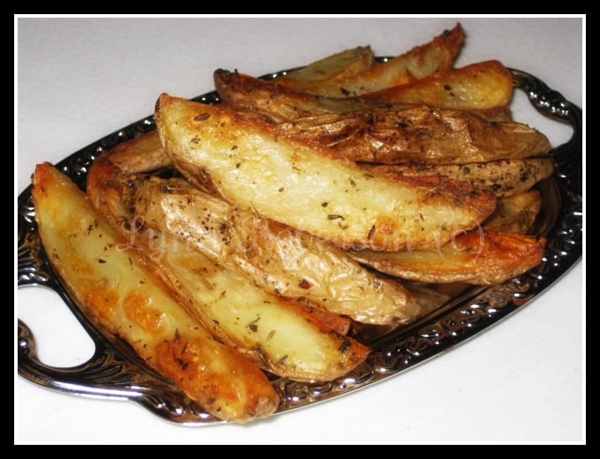 Bites And Pieces Oven Baked Potato Wedges