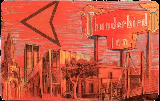 Thunderbird Inn Keycard