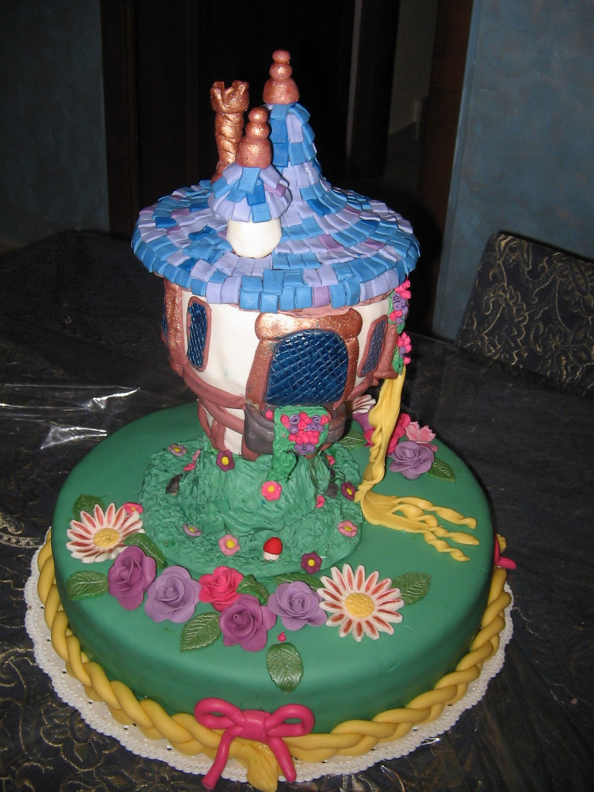 Favoloso Torte Di Compleanno Rapunzel UT65 » Regardsdefemmes YA75