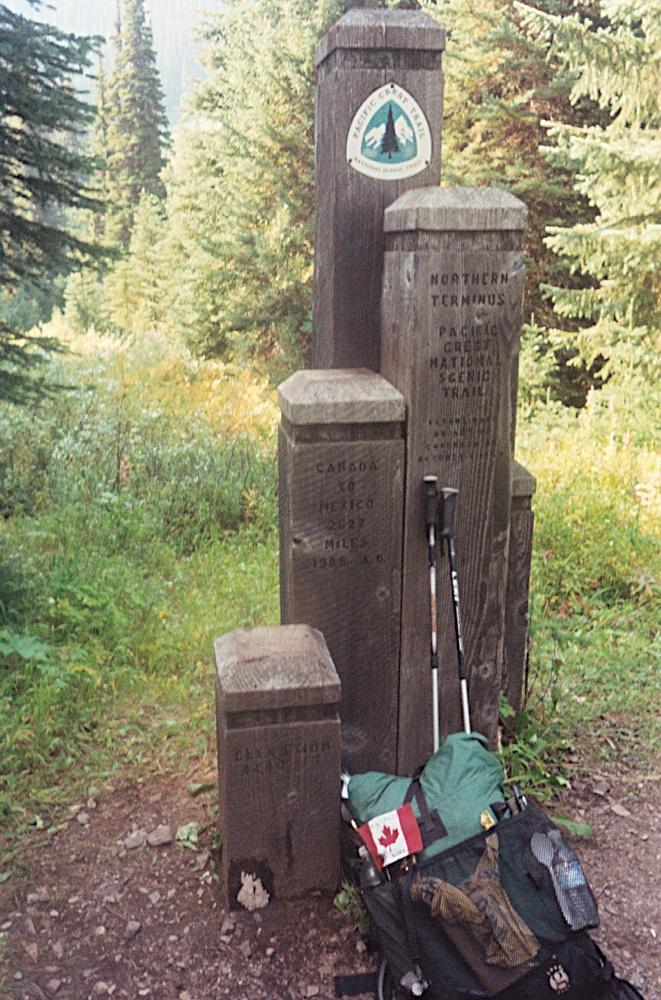 A more reasonable PCT hiker backpack