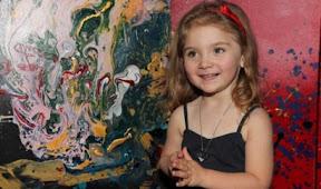 Aelita Andre abstract painting 1 Inilah 10 orang genius dengan bakat luarbiasa