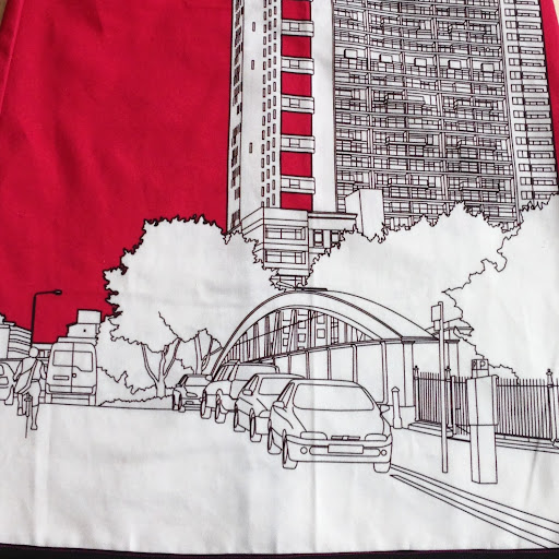 Clothkits Trellick Tower skirt