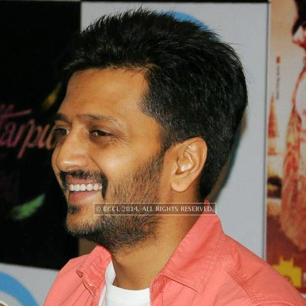 Riteish Deshmukh during a press conference at Hotel Centre Point in Nagpur.