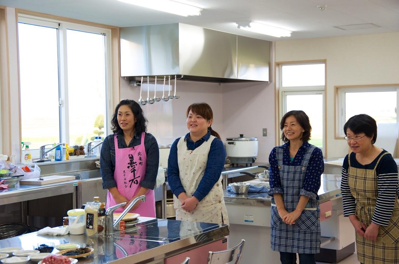 永井美保子さん、辻圭子さん、道下貴美さん、川上陽子さん