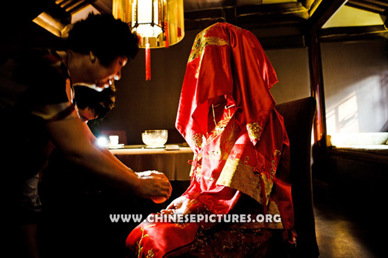 Wedding Between Chinese and Westerner 1