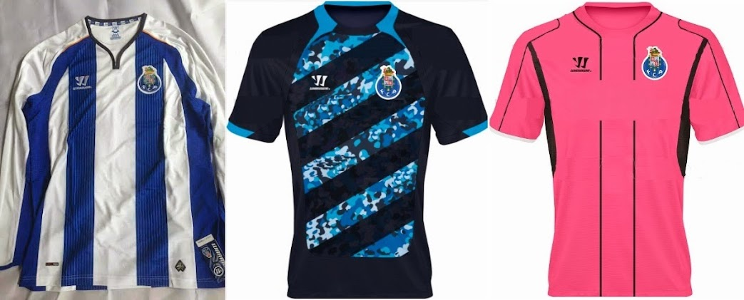 huge selection of 3fbe0 16a1d New Warrior FC Porto 2014-15 Home Kit Leaked