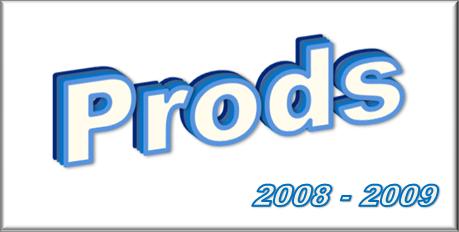 Les Prods - 2008/2009