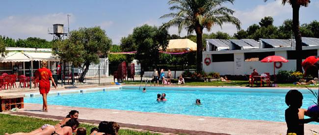 Piscina Camping La Corona Tarragona