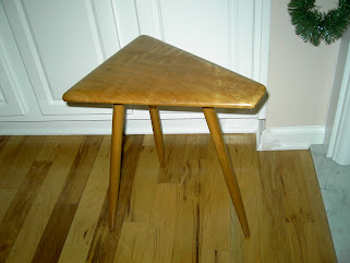 Antique 3-Legged Stool (005)