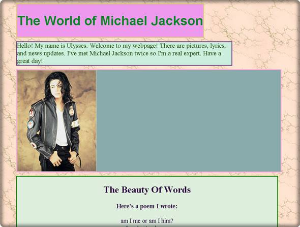 fan page de michael jackson